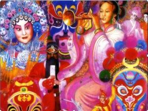 Pintura em estilo oriental (Autor: José Eduardo Agualusa)