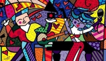 Latin Celebration (Romero Britto)