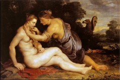 Jupiter e Calisto (Peter Paul Rubens, 1613)
