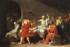 A Morte de Sócrates (Jacques-Louis David, 1787)
