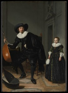 A Musician and His Daughter (Thomas de Keyser, 1629) - www.metmuseum.org