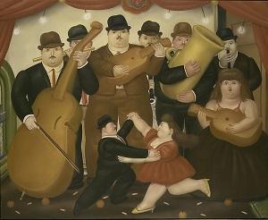 Dancing in Colombia (Fernando Botero, 1980) - www.metmuseum.org/