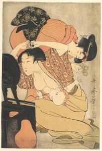 Mother and Child (Kitagawa Utamaro, 1793) - www.metmuseum.org