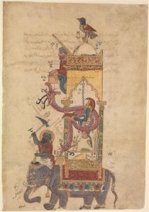 TheElephantClock (Al-Jazari, 1315) - www.themetmuseum.org