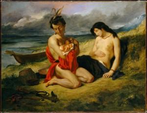 The Natchez - Eugene Delacroix - 1835 - www.metmuseum.org