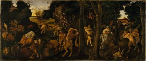 A Hunting Scene (Piero di Cosimo, 1507–8) - www.metmuseum.org