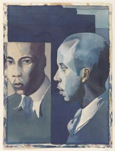 Self-Portrait (Samuel Joseph Brown, Jr. 1941) - http://metmuseum.org