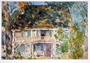 The Brush House (Childe Hassam, 1916) - www.metmuseum.org