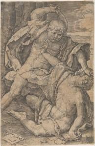 Cain Killing Abel (Lucas van Leyden, 1524) - www.metmuseum.org