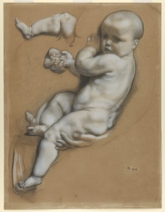Study of a Baby (Frederick Goodall, 1868) - www.metmuseum.org