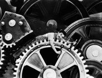 Tempos Modernos (Charlie Chaplin, 1936)