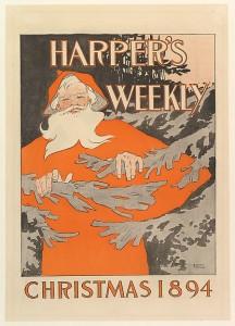 Harper's Weekly: Christmas (Edward Penfield, 1894) -  www.metmuseum.org