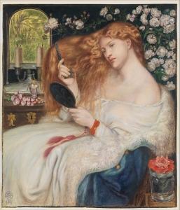 Lady Lilith (Dante Gabriel Rossetti, 1867) - www.metmuseum.org