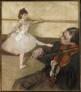 The Dance Lesson (Edgar Degas, 1879) - www.metmuseum.org