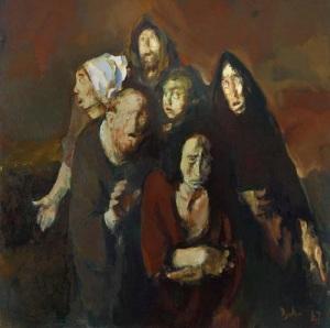 The Fear (Homage to Francisco Goya) (Corneliu Baba, 1987)