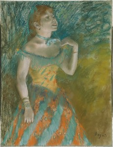 The Singer in Green (Edgar Degas, 1884) - www.metmuseum.org