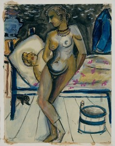 Couple (Marc Chagall, 1911) - www.metmuseum.org