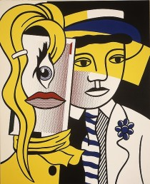 Stepping Out (Roy Lichtenstein, 1978) - www.metmuseum.org
