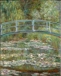 Claude Monet (Bridge over a Pond of Water Lilies, 1899) - www.metmuseum.org